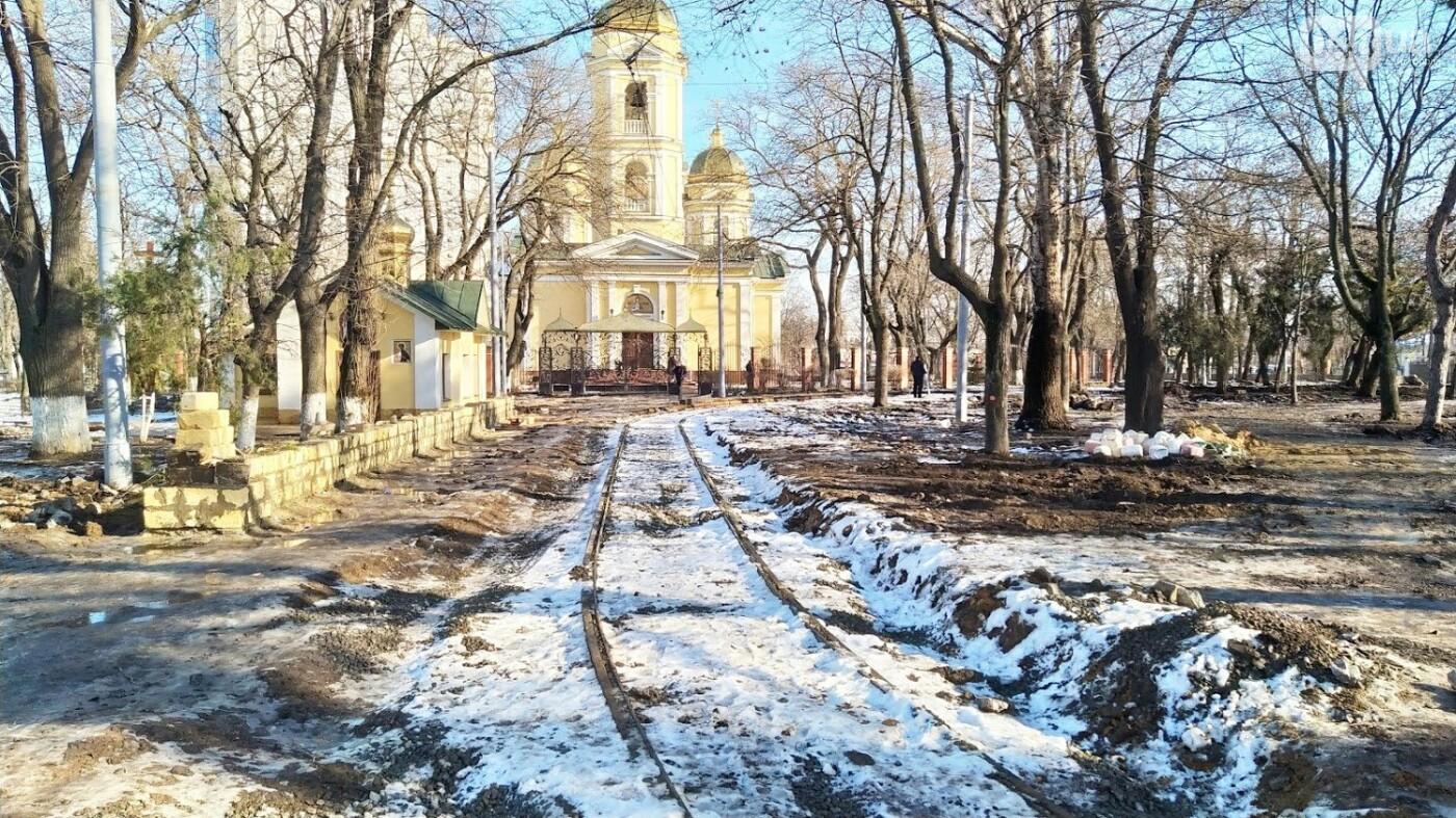 Как в Одессе проходит благоустройство Алексеевского сквера, - ФОТО, фото-14, ФОТО: Александр Жирносенко.