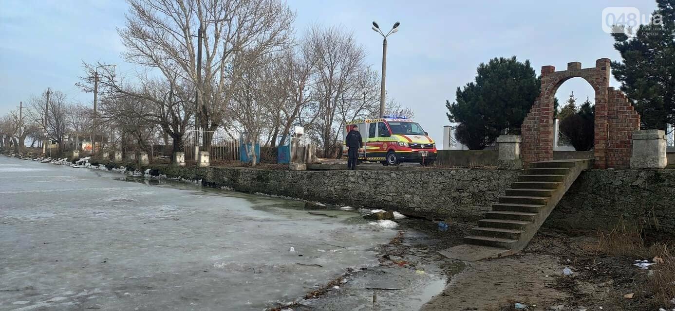 В Одесской области дети решили погулять по тонкому льду, - ФОТО3