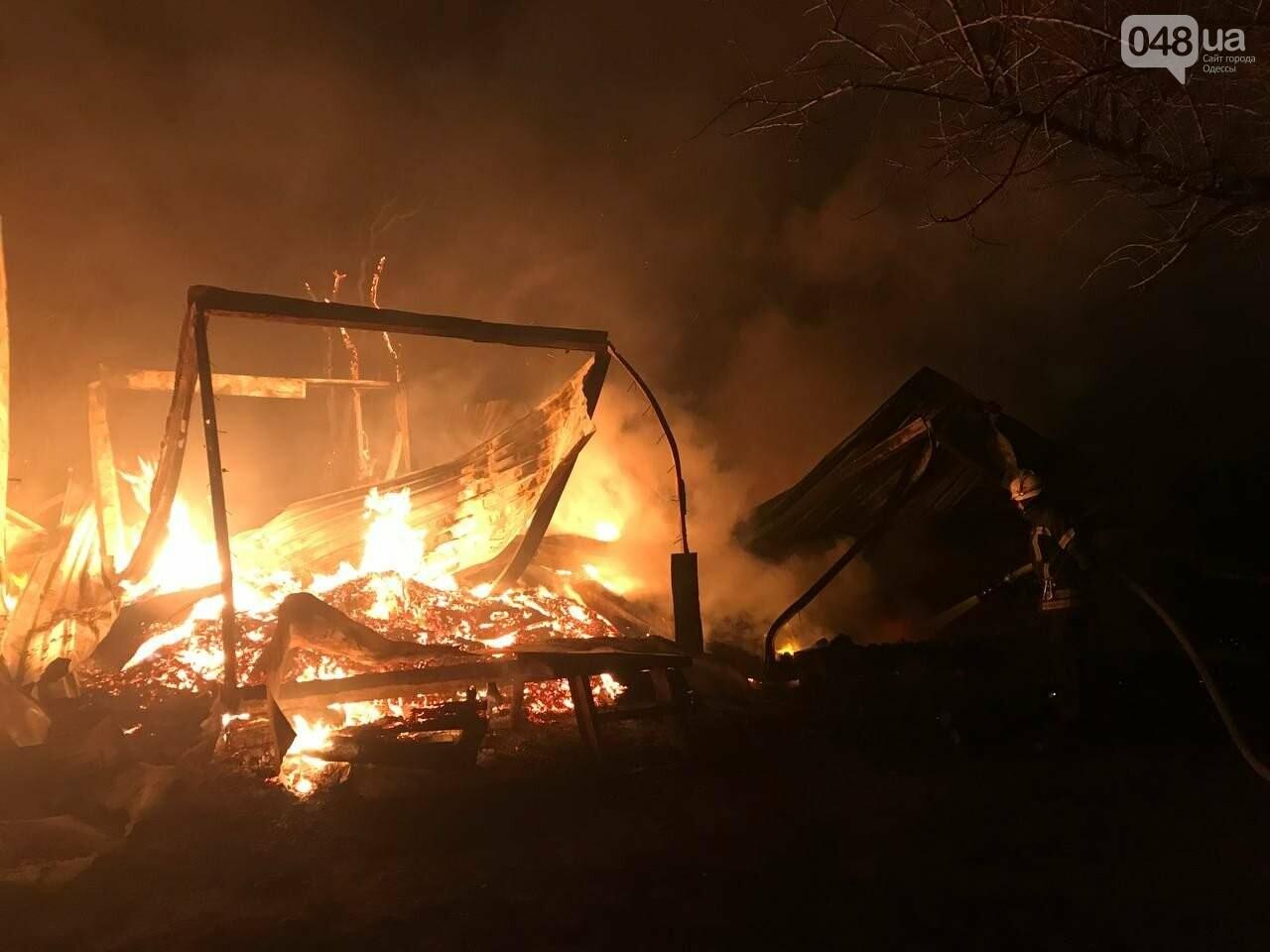 Пожар на базе отдыха в Одесской области.1