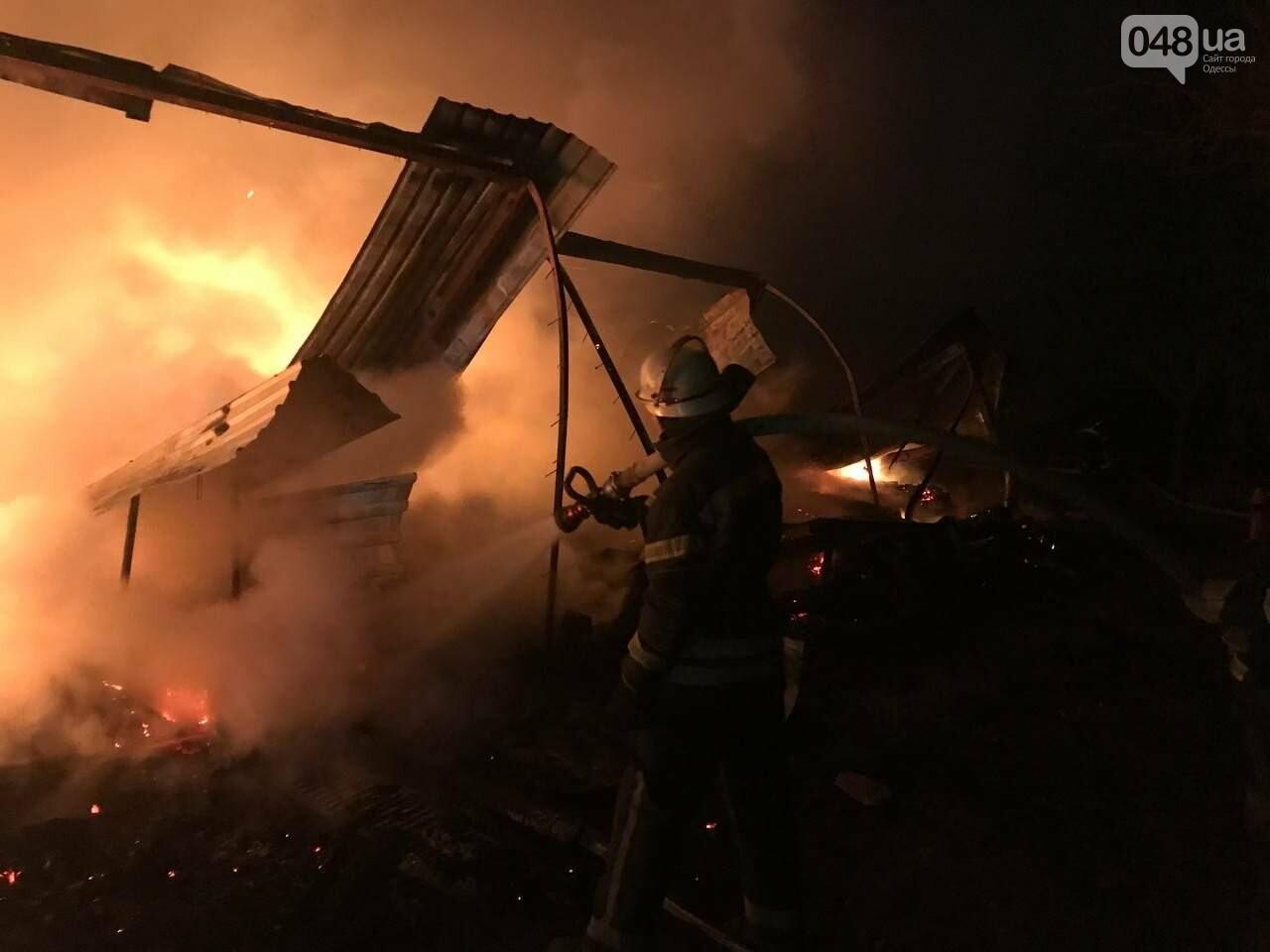 Пожар на базе отдыха в Одесской области.2