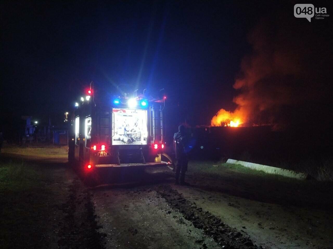 Пожар на базе отдыха в Одесской области.4