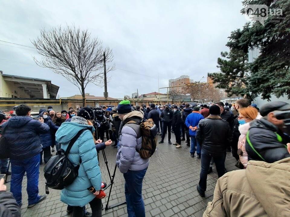 В Одессе моряки перекрыли трассу,- ФОТО, ВИДЕО, фото-11