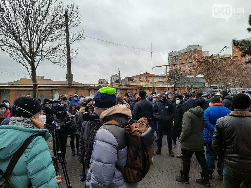 В Одессе моряки перекрыли трассу,- ФОТО, ВИДЕО, фото-12