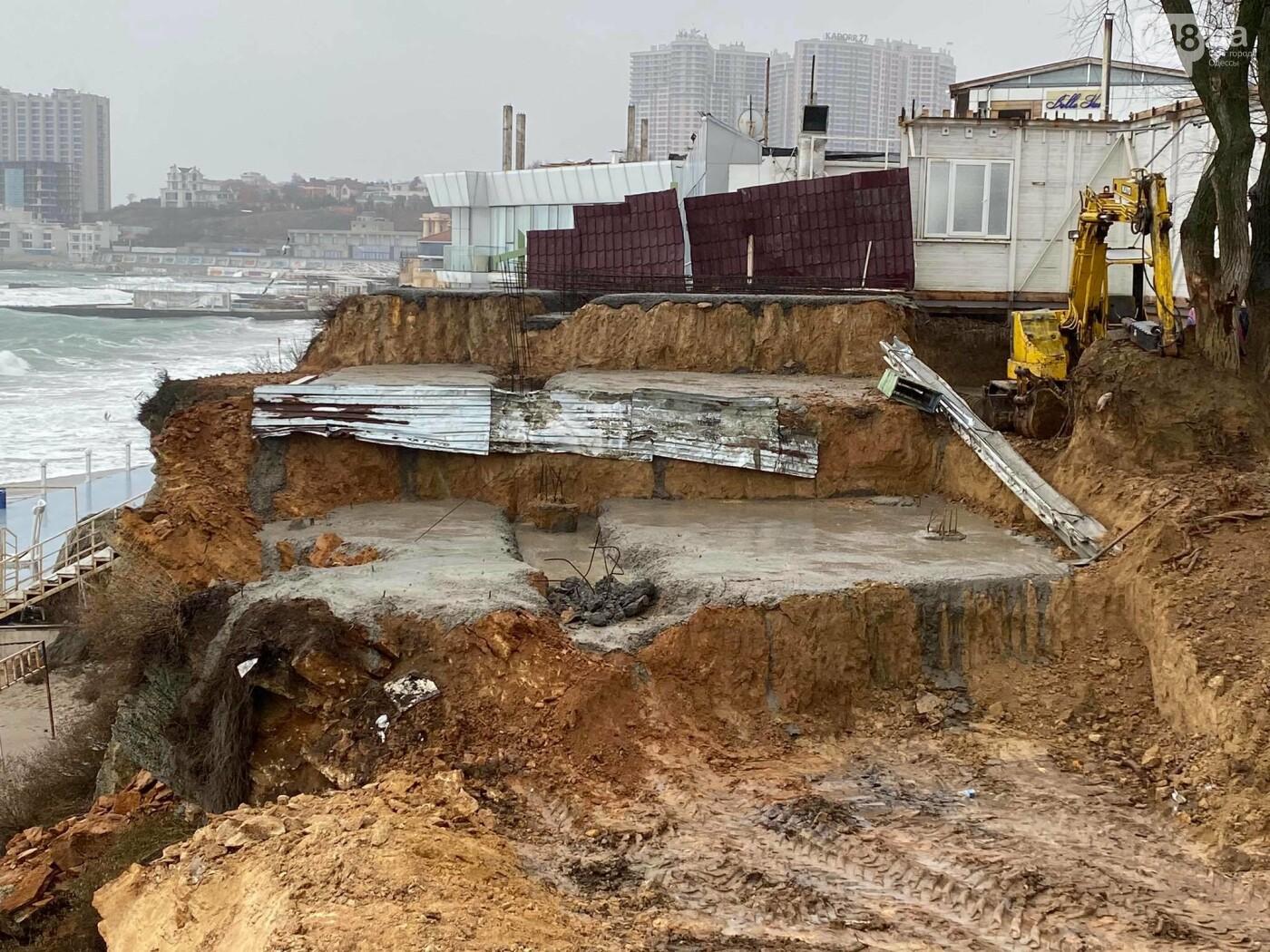 В Аркадии на побережье активист нашел незаконную стройку,- ФОТО, ВИДЕО, фото-2