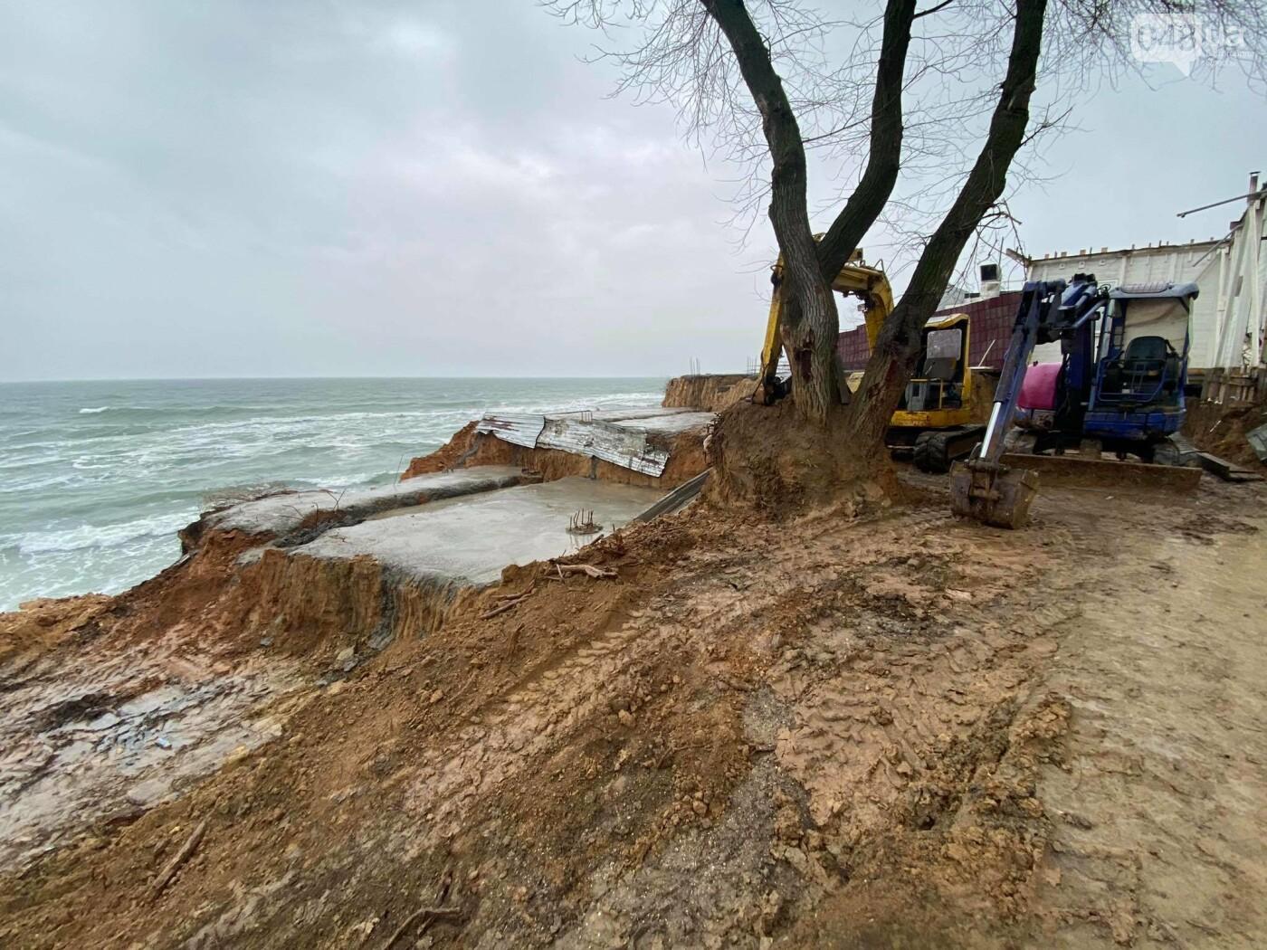 В Аркадии на побережье активист нашел незаконную стройку,- ФОТО, ВИДЕО, фото-3