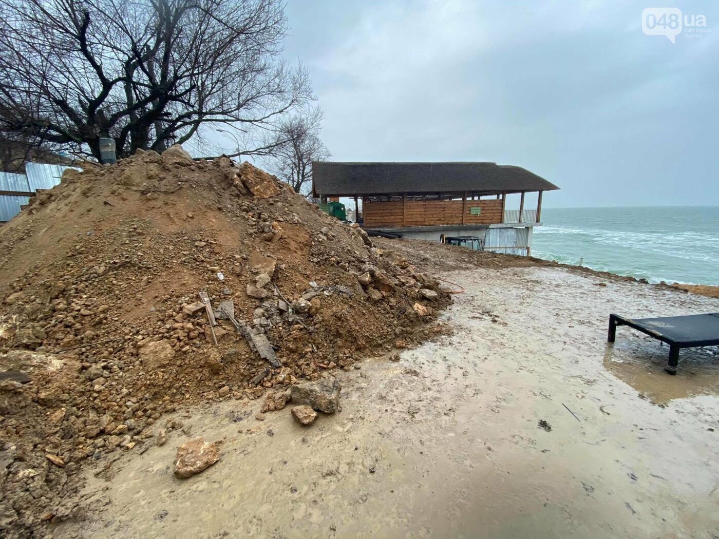 В Аркадии на побережье активист нашел незаконную стройку,- ФОТО, ВИДЕО, фото-5