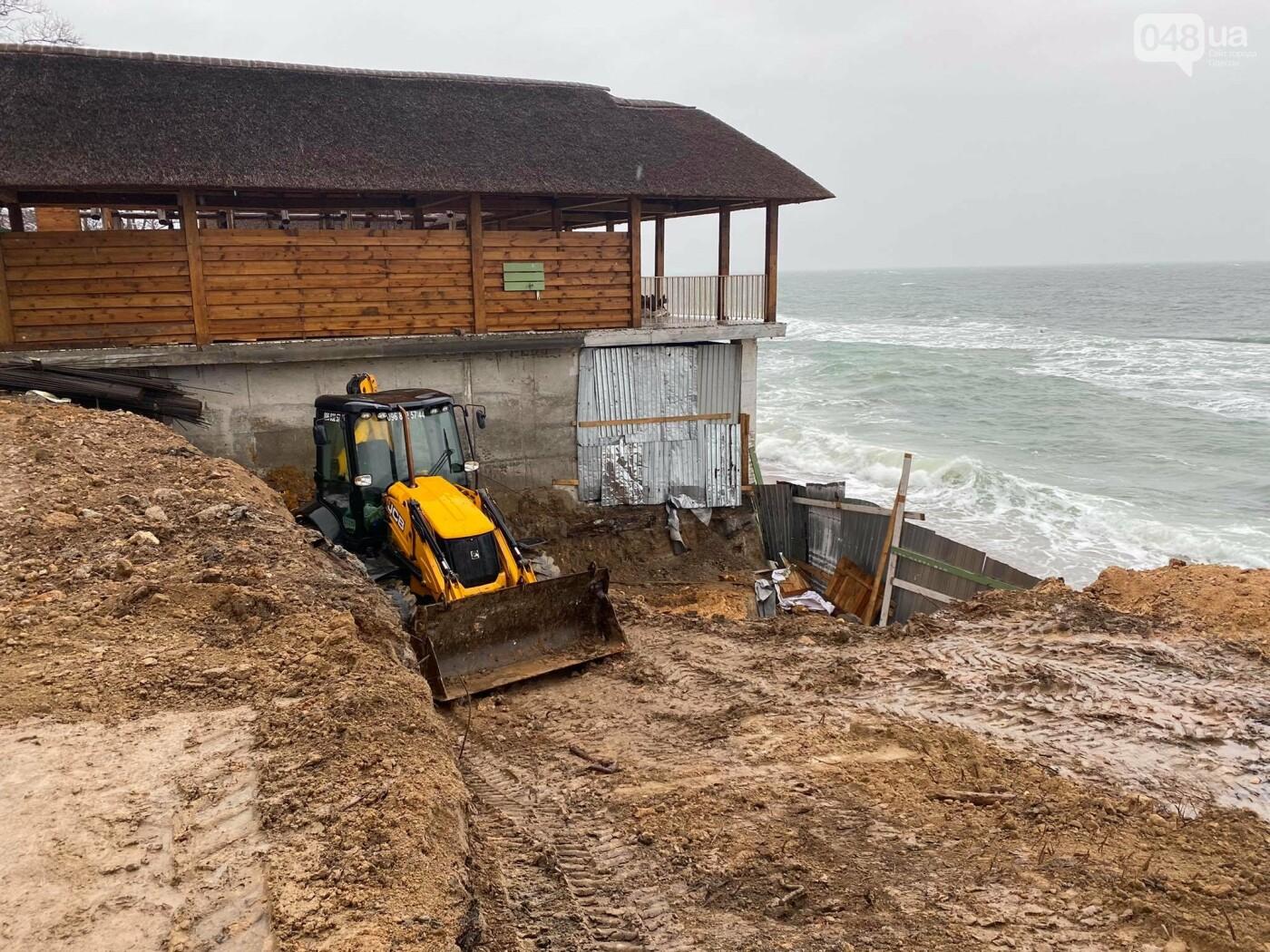 В Аркадии на побережье активист нашел незаконную стройку,- ФОТО, ВИДЕО, фото-4