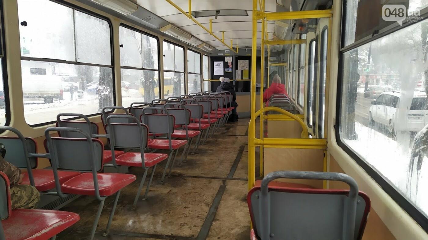 Снегопад в Одессе: как ходит общественный транспорт в городе, - ФОТО, фото-3, ФОТО: Александр Жирносенко