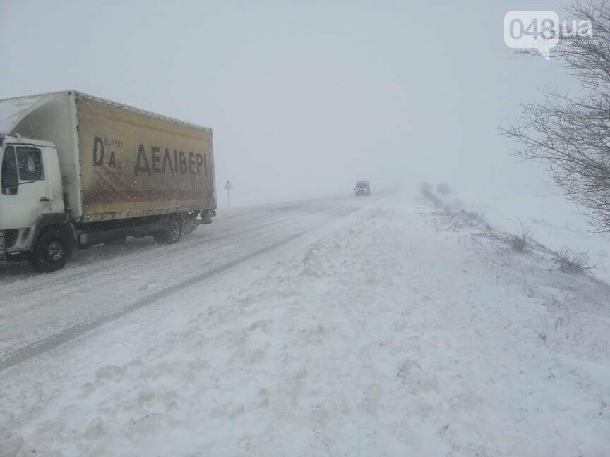 Села Одесской области заметает снегом, на трассе переметы,- ФОТОРЕПОРТАЖ, фото-15