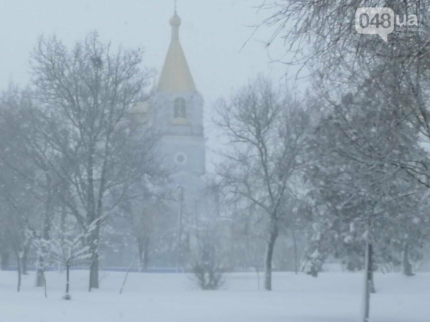 Села Одесской области заметает снегом, на трассе переметы,- ФОТОРЕПОРТАЖ, фото-1