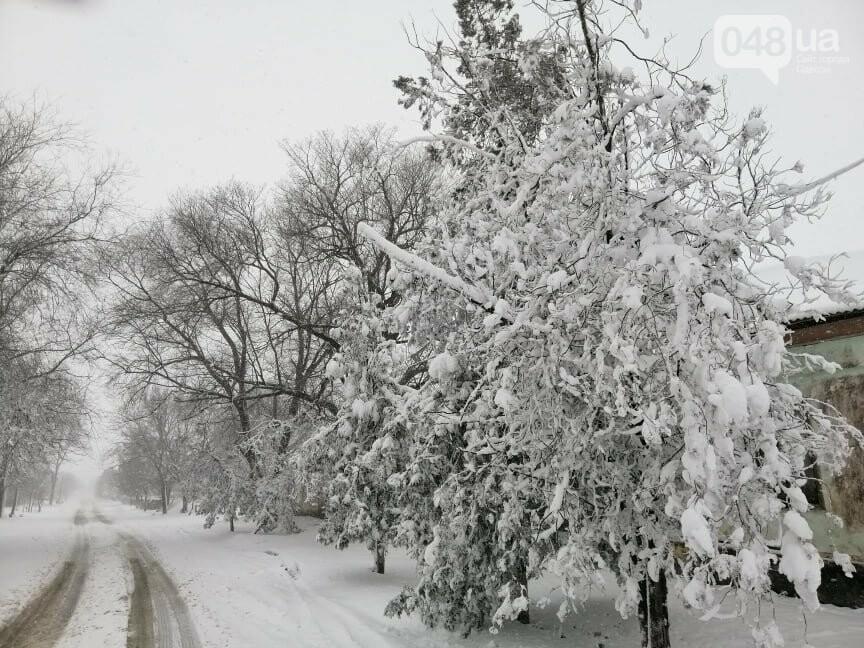 Села Одесской области заметает снегом, на трассе переметы,- ФОТОРЕПОРТАЖ, фото-11