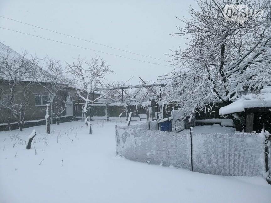 Села Одесской области заметает снегом, на трассе переметы,- ФОТОРЕПОРТАЖ, фото-3