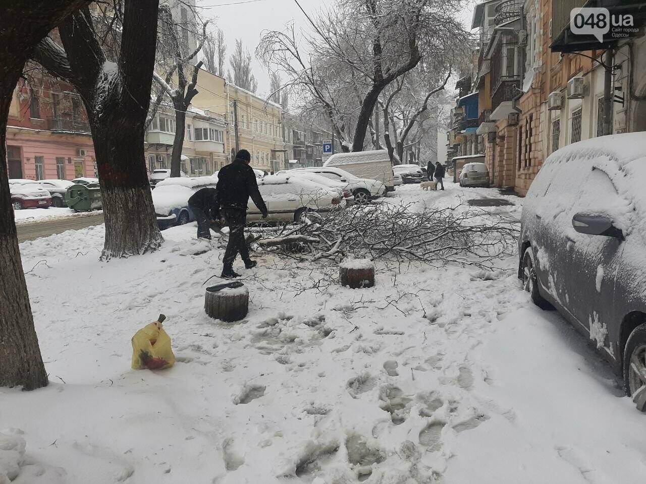 Последствия непогоды в Одессе, - ФОТОРЕПОРТАЖ, фото-2121