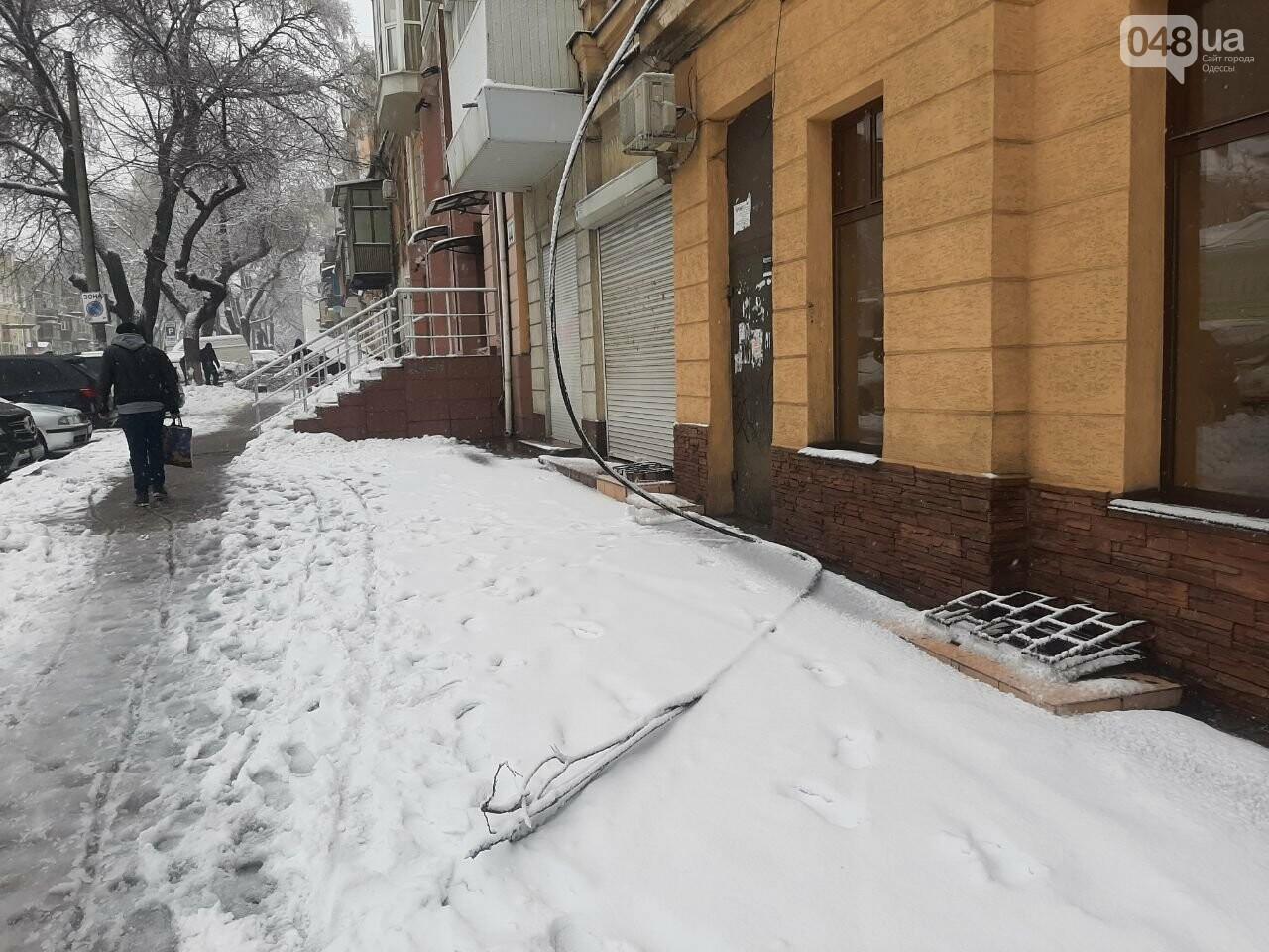 Последствия непогоды в Одессе, - ФОТОРЕПОРТАЖ, фото-2020