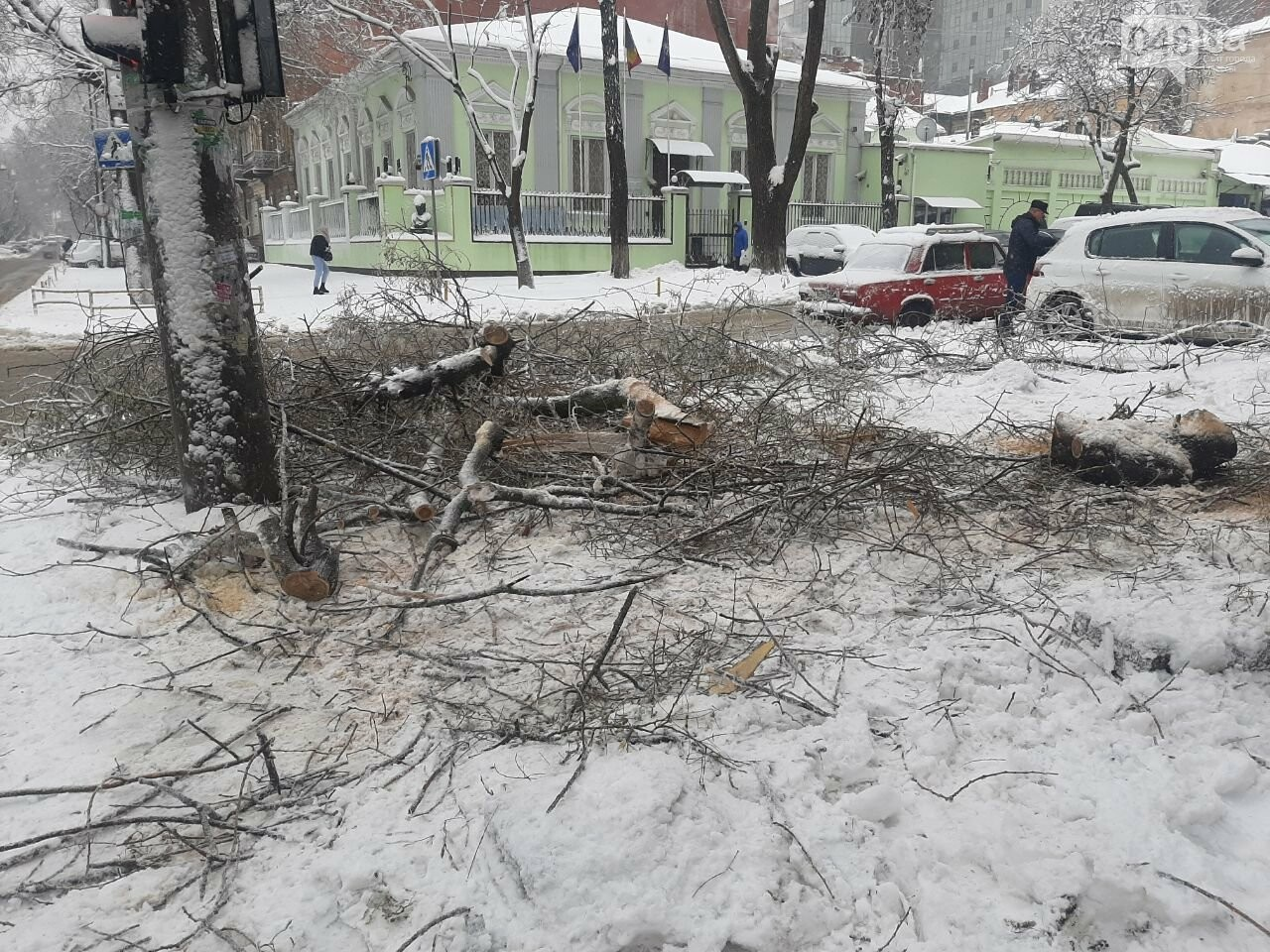 Последствия непогоды в Одессе, - ФОТОРЕПОРТАЖ, фото-1616