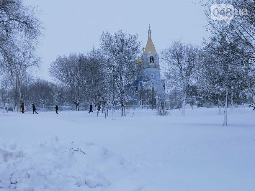 Сугробы выше крыши: жители Одесской области откапываются,-..., фото-99