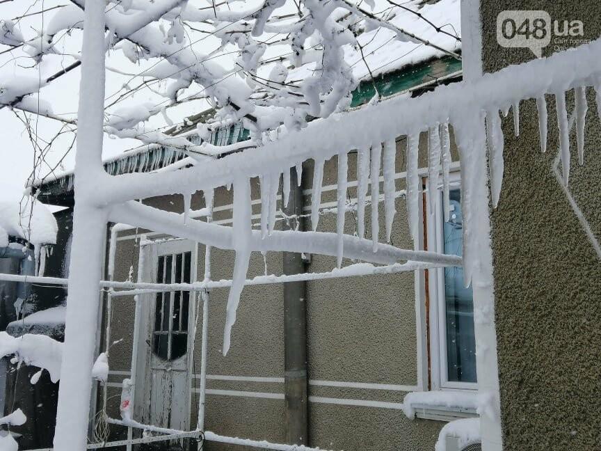 Сугробы выше крыши: жители Одесской области откапываются,-..., фото-1414