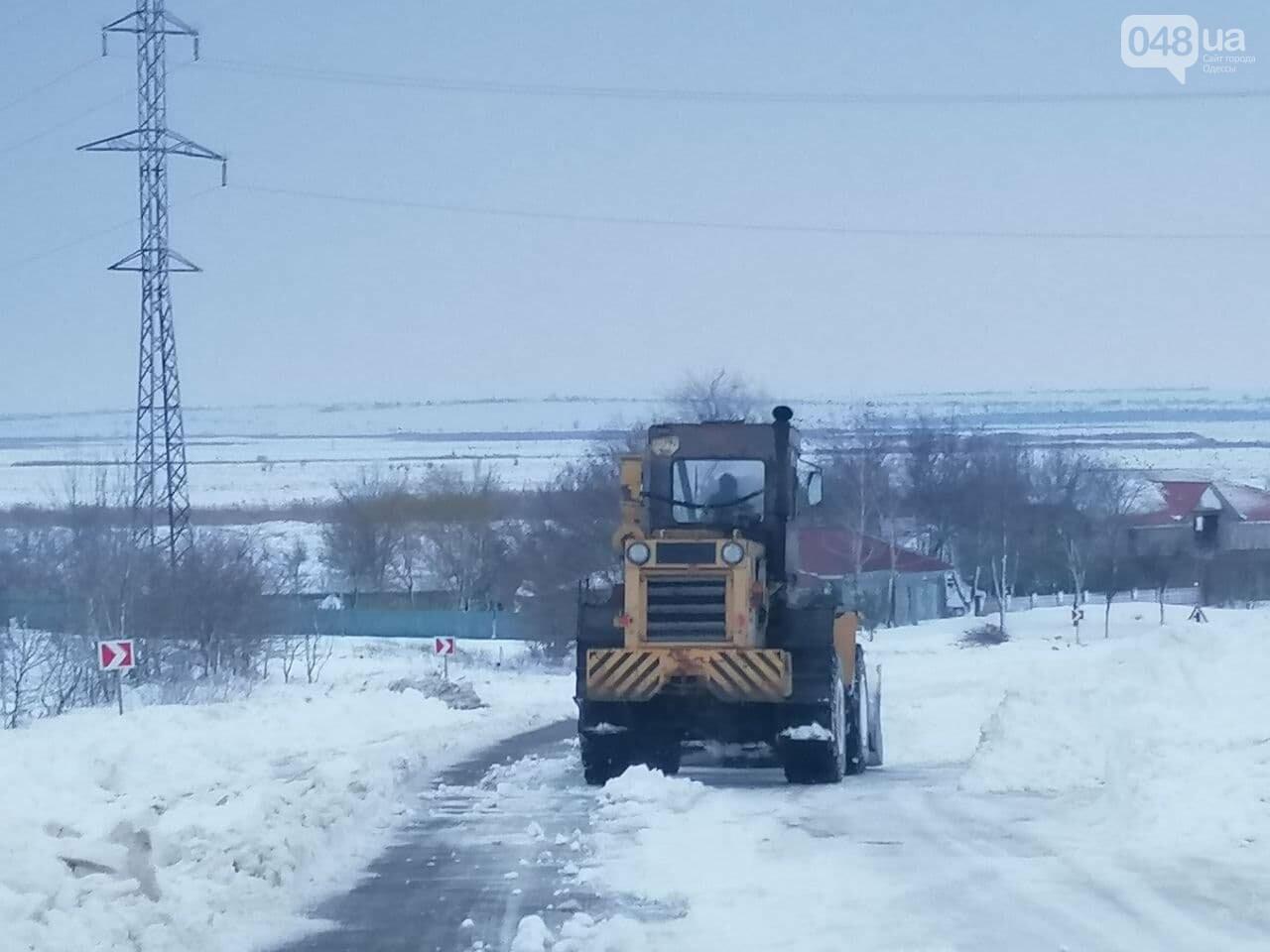 Трасса Одесса-Рени: брошенные автомобили, трактора и сугробы,- ВИДЕО, ФОТО, фото-9