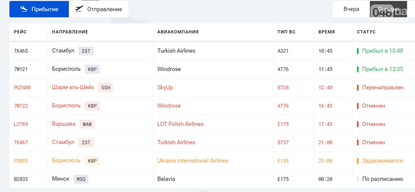 Снегопад в Одессе: аэропорт отменил рейсы, - ФОТО1