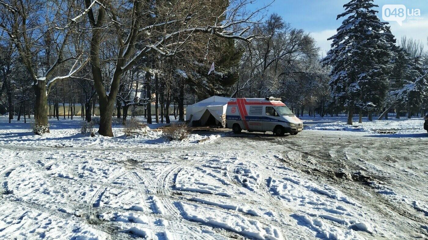 В Одессе подростки напали на пункт обогрева и пытались избить бездомных, - ОБНОВЛЕНО, фото-1