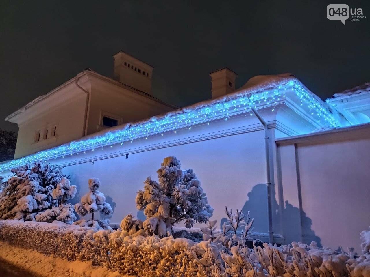 Зимняя сказка на одесской Рублевке: как выглядит Совиньон в снегу, - ФОТОРЕПОРТАЖ, фото-14