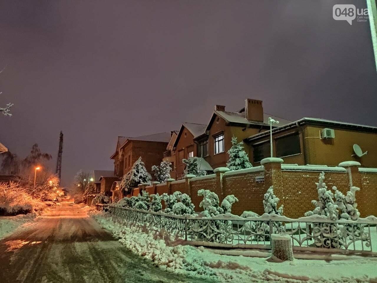 Зимняя сказка на одесской Рублевке: как выглядит Совиньон в снегу, - ФОТОРЕПОРТАЖ, фото-9