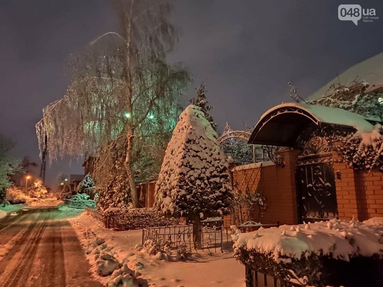 Зимняя сказка на одесской Рублевке: как выглядит Совиньон в снегу, - ФОТОРЕПОРТАЖ, фото-10