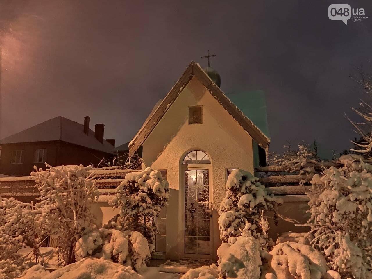 Зимняя сказка на одесской Рублевке: как выглядит Совиньон в снегу, - ФОТОРЕПОРТАЖ, фото-16