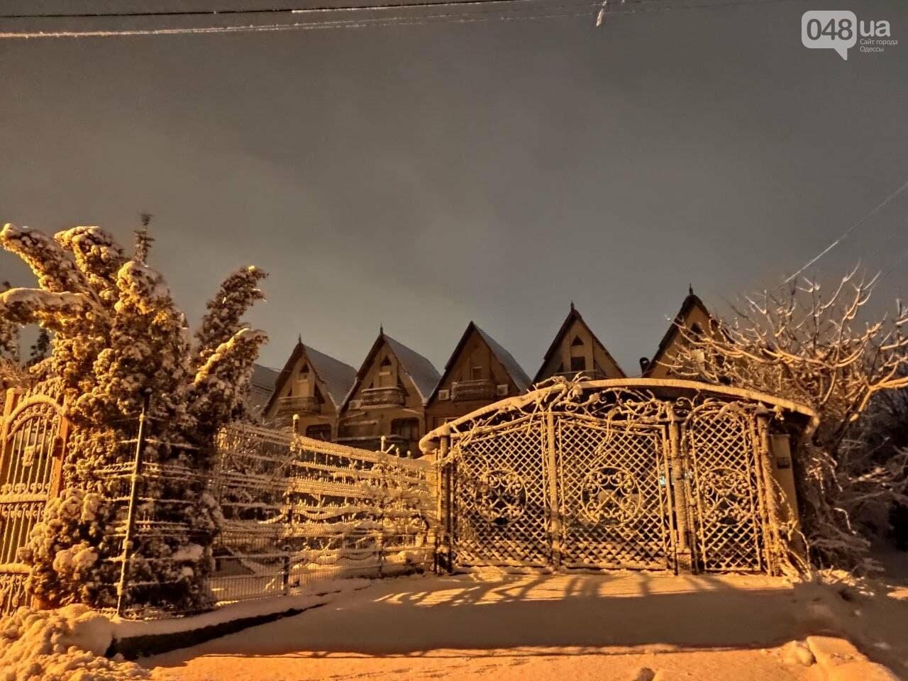Зимняя сказка на одесской Рублевке: как выглядит Совиньон в снегу, - ФОТОРЕПОРТАЖ, фото-21