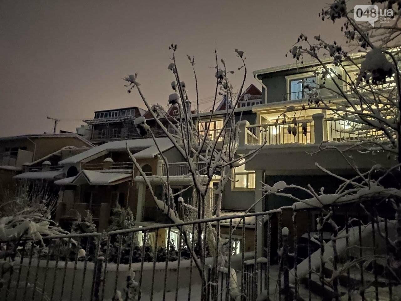 Зимняя сказка на одесской Рублевке: как выглядит Совиньон в снегу, - ФОТОРЕПОРТАЖ, фото-8