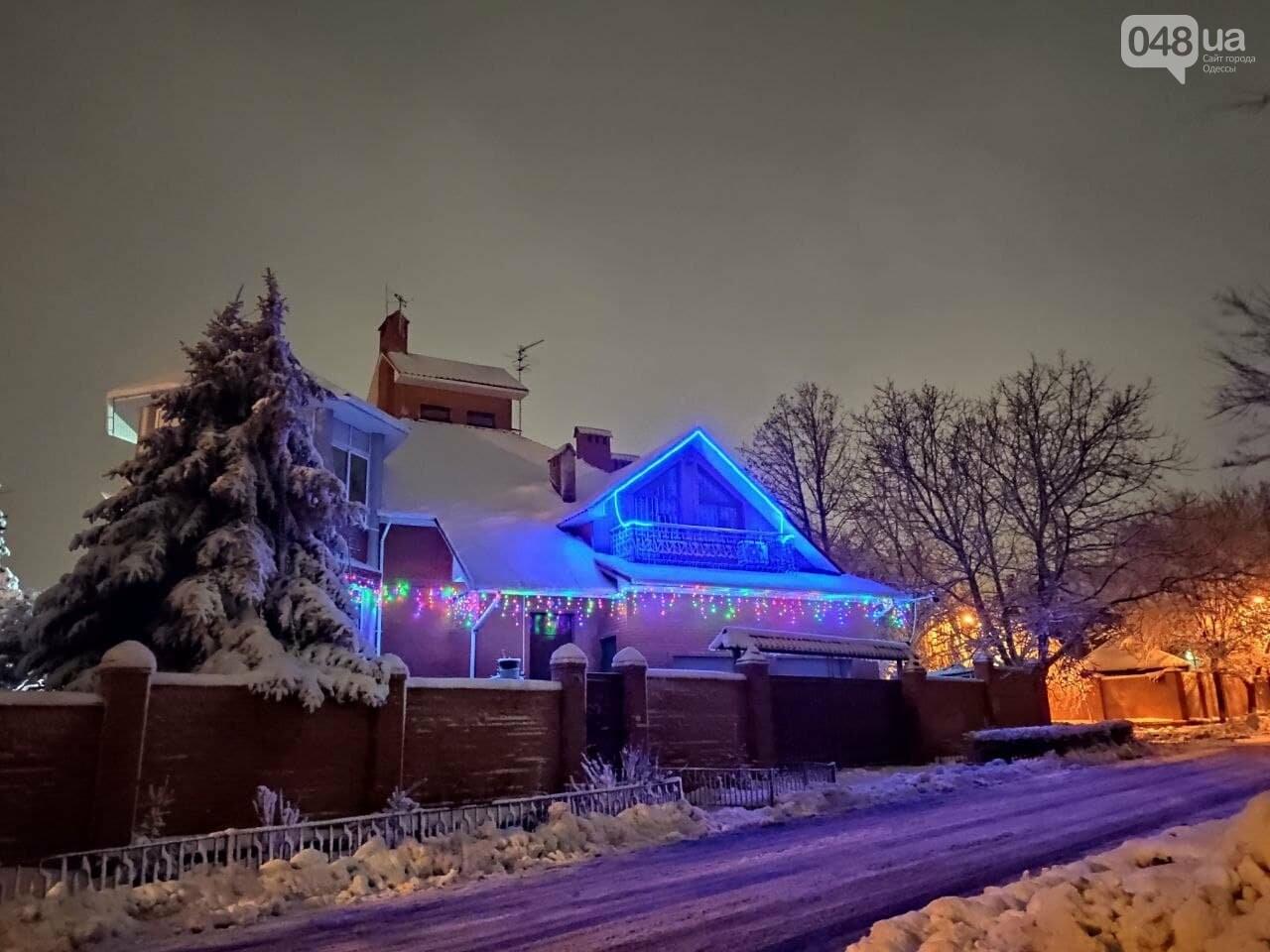 Зимняя сказка на одесской Рублевке: как выглядит Совиньон в снегу, - ФОТОРЕПОРТАЖ, фото-6