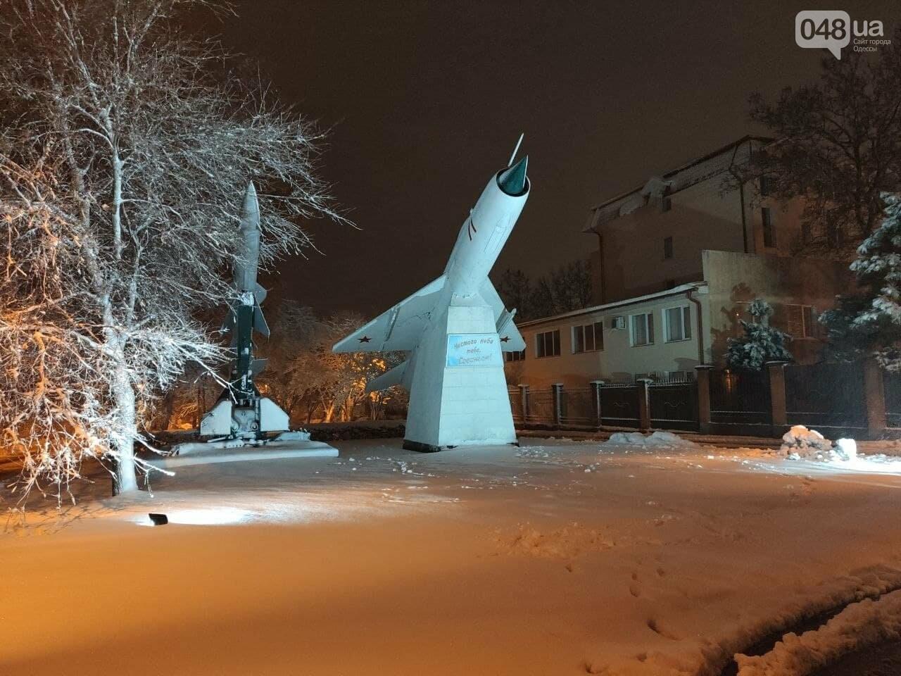Зимняя сказка на одесской Рублевке: как выглядит Совиньон в снегу, - ФОТОРЕПОРТАЖ, фото-2