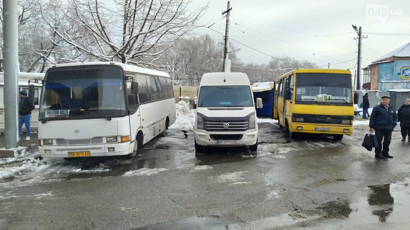 Автовокзал из-за непогоды опустел: какие автобусы ходят в Одесской области, - ФОТО, фото-8, ФОТО: Александр Жирносенко.