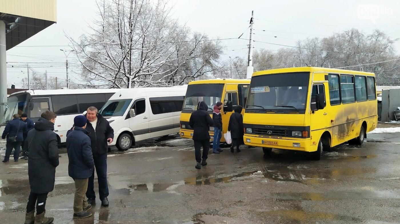 Автовокзал из-за непогоды опустел: какие автобусы ходят в Одесской области, - ФОТО, фото-11, ФОТО: Александр Жирносенко.