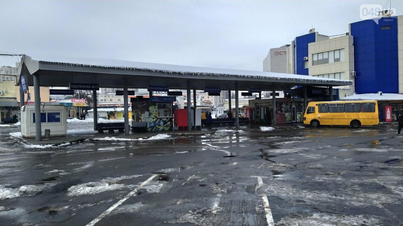 Автовокзал из-за непогоды опустел: какие автобусы ходят в Одесской области, - ФОТО, фото-2, ФОТО: Александр Жирносенко.