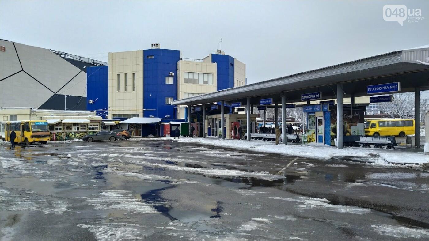 Автовокзал из-за непогоды опустел: какие автобусы ходят в Одесской области, - ФОТО, фото-5, ФОТО: Александр Жирносенко.