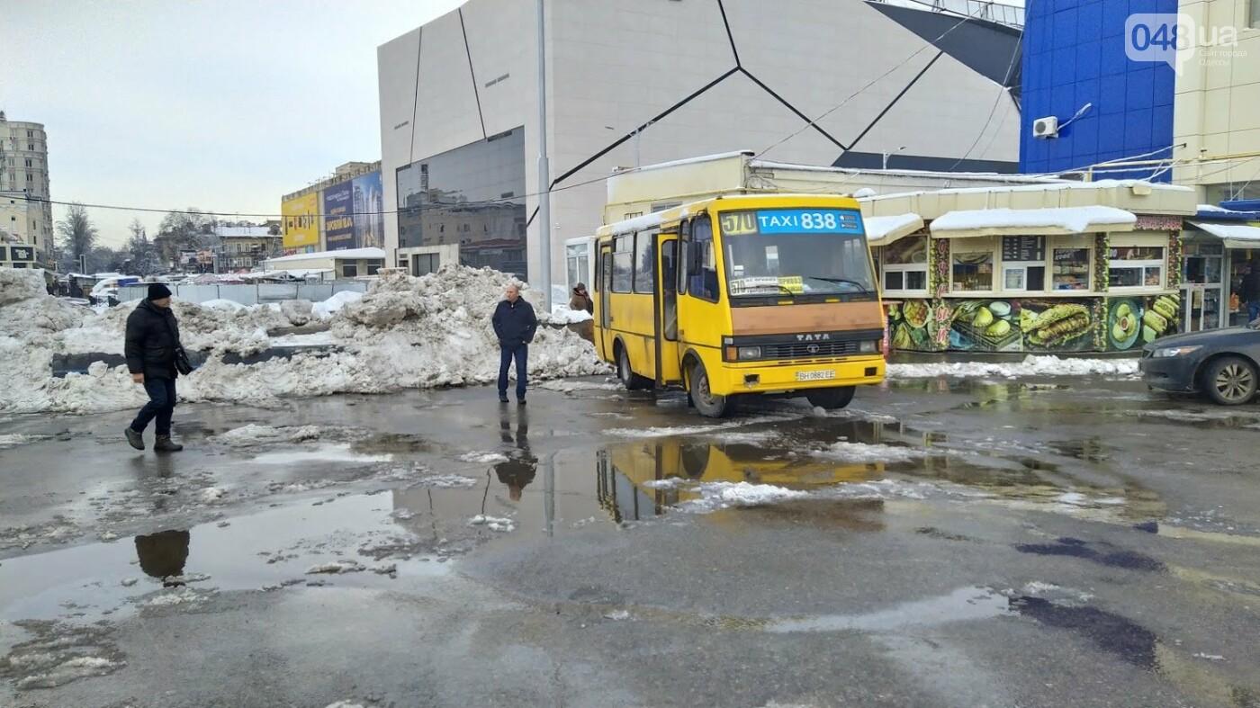 Автовокзал из-за непогоды опустел: какие автобусы ходят в Одесской области, - ФОТО, фото-7, ФОТО: Александр Жирносенко.