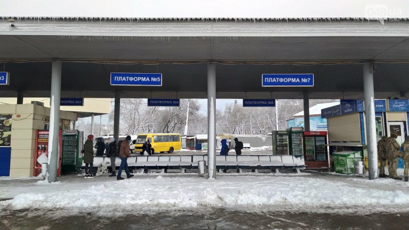 Автовокзал из-за непогоды опустел: какие автобусы ходят в Одесской области, - ФОТО, фото-9, ФОТО: Александр Жирносенко.