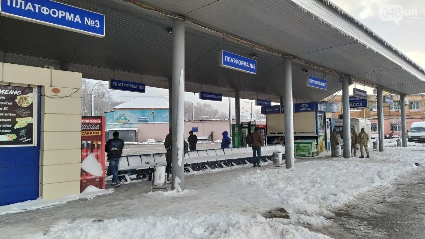 Автовокзал из-за непогоды опустел: какие автобусы ходят в Одесской области, - ФОТО, фото-10, ФОТО: Александр Жирносенко.