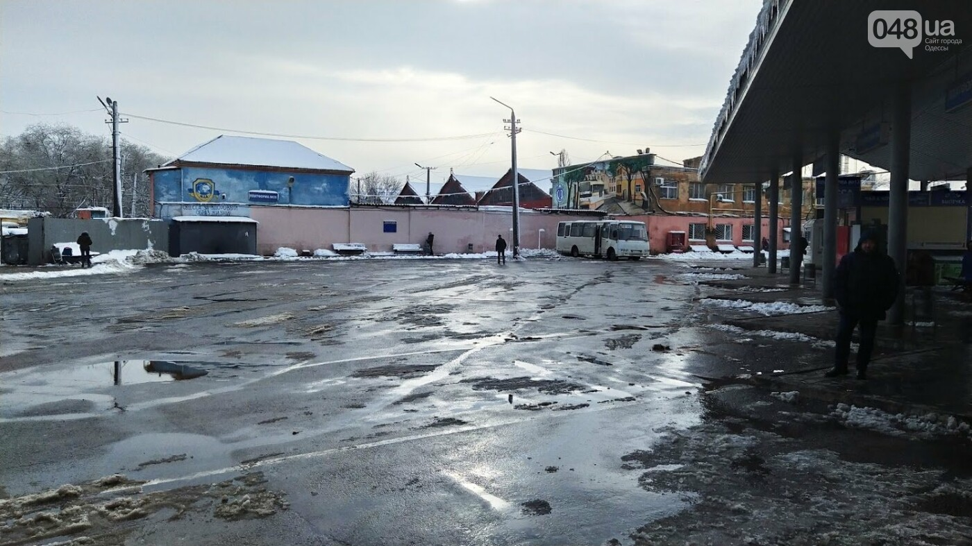 Автовокзал из-за непогоды опустел: какие автобусы ходят в Одесской области, - ФОТО, фото-13, ФОТО: Александр Жирносенко.