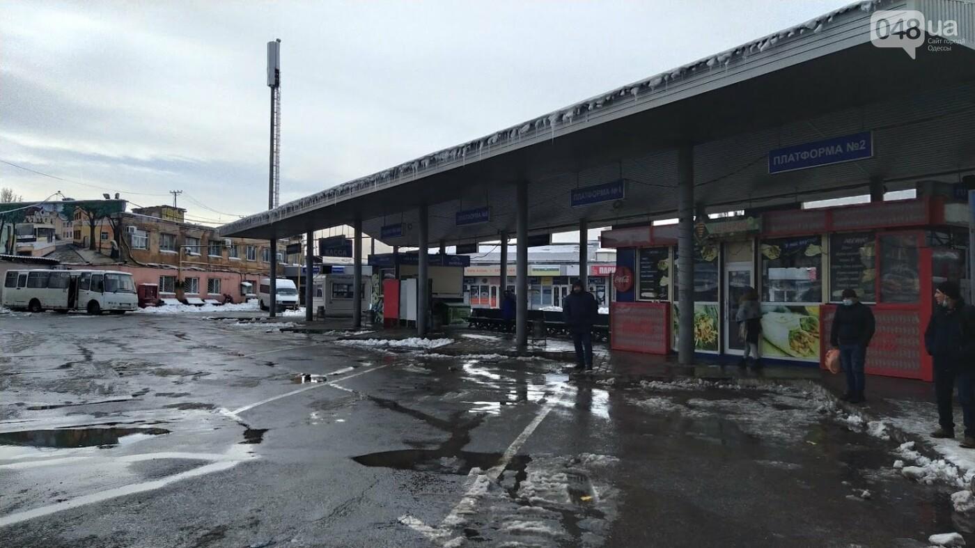 Автовокзал из-за непогоды опустел: какие автобусы ходят в Одесской области, - ФОТО, фото-15, ФОТО: Александр Жирносенко.
