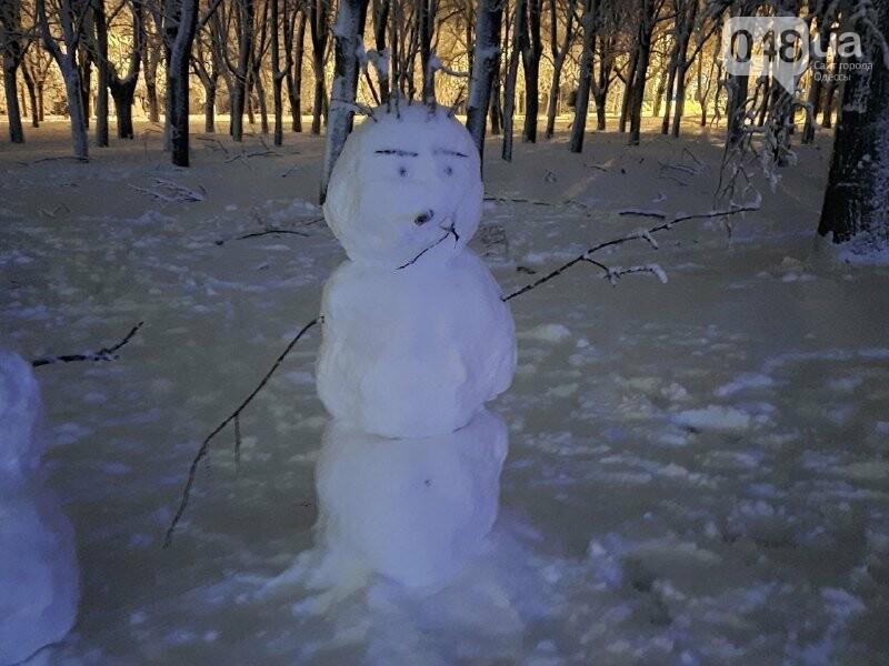 Одессу захватили снеговики, - ФОТОРЕПОРТАЖ , фото-13