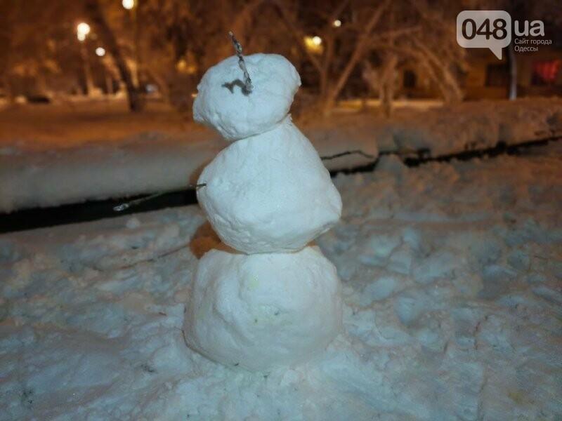 Одессу захватили снеговики, - ФОТОРЕПОРТАЖ , фото-18