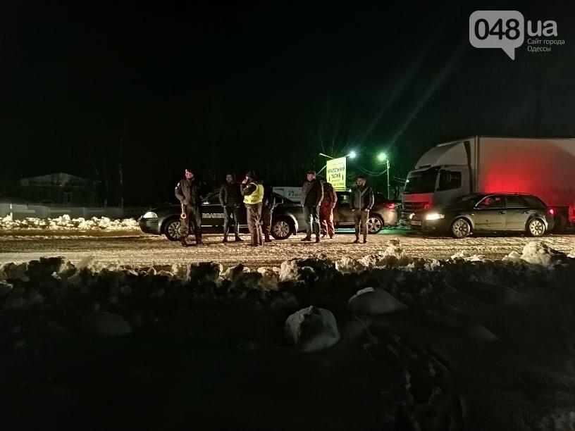 Трассу Одесса-Рени снова перекрыли, на дороге километровые пробки, - ФОТО, ВИДЕО, фото-1