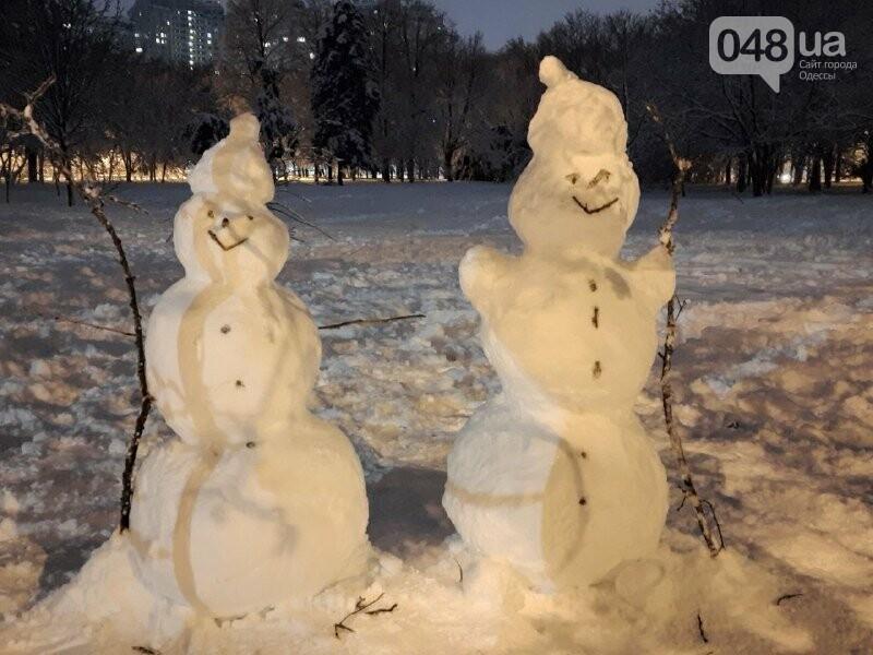Одессу захватили снеговики, - ФОТОРЕПОРТАЖ , фото-11