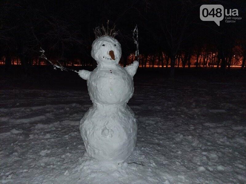 Одессу захватили снеговики, - ФОТОРЕПОРТАЖ , фото-12