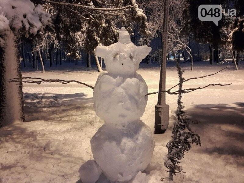 Одессу захватили снеговики, - ФОТОРЕПОРТАЖ , фото-5