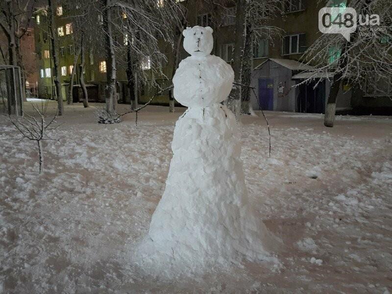 Одессу захватили снеговики, - ФОТОРЕПОРТАЖ , фото-16