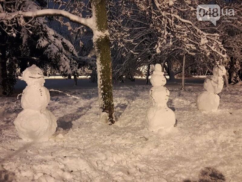 Одессу захватили снеговики, - ФОТОРЕПОРТАЖ , фото-1