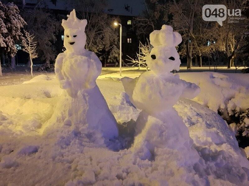 Одессу захватили снеговики, - ФОТОРЕПОРТАЖ , фото-3